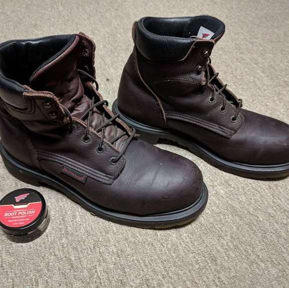 5cb28f63935 Redwing 2406 Work Boots - Steel Toes